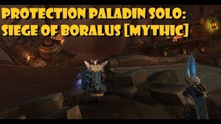 Protection Paladin Solo: Siege of Boralus [Mythic]