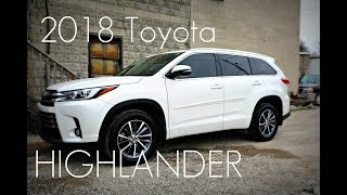 2018 / 2019  Toyota Highlander XLE - BEST SUV ;) - Hands On In-depth Look!