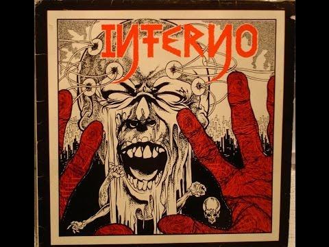INFERNO - Tod und Wahsinn LP (w/ Lyrics) (complete) German Hardcore w/ lyrics