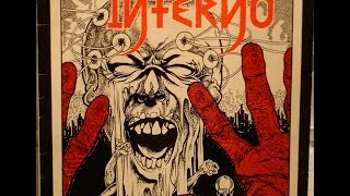 INFERNO - Tod und Wahsinn LP (w/ Lyrics) (complete) German Hardcore w/ lyrics
