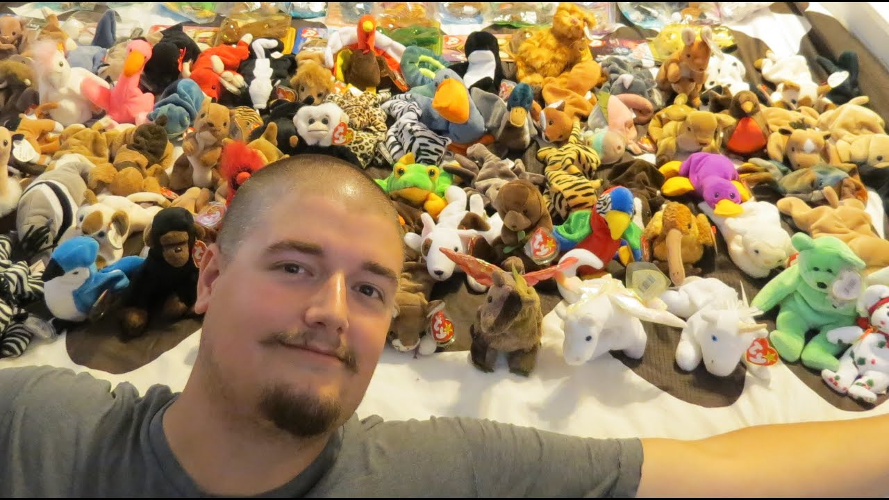 Huge Beanie Baby Collection!!! - YouTube 20091c741ff0