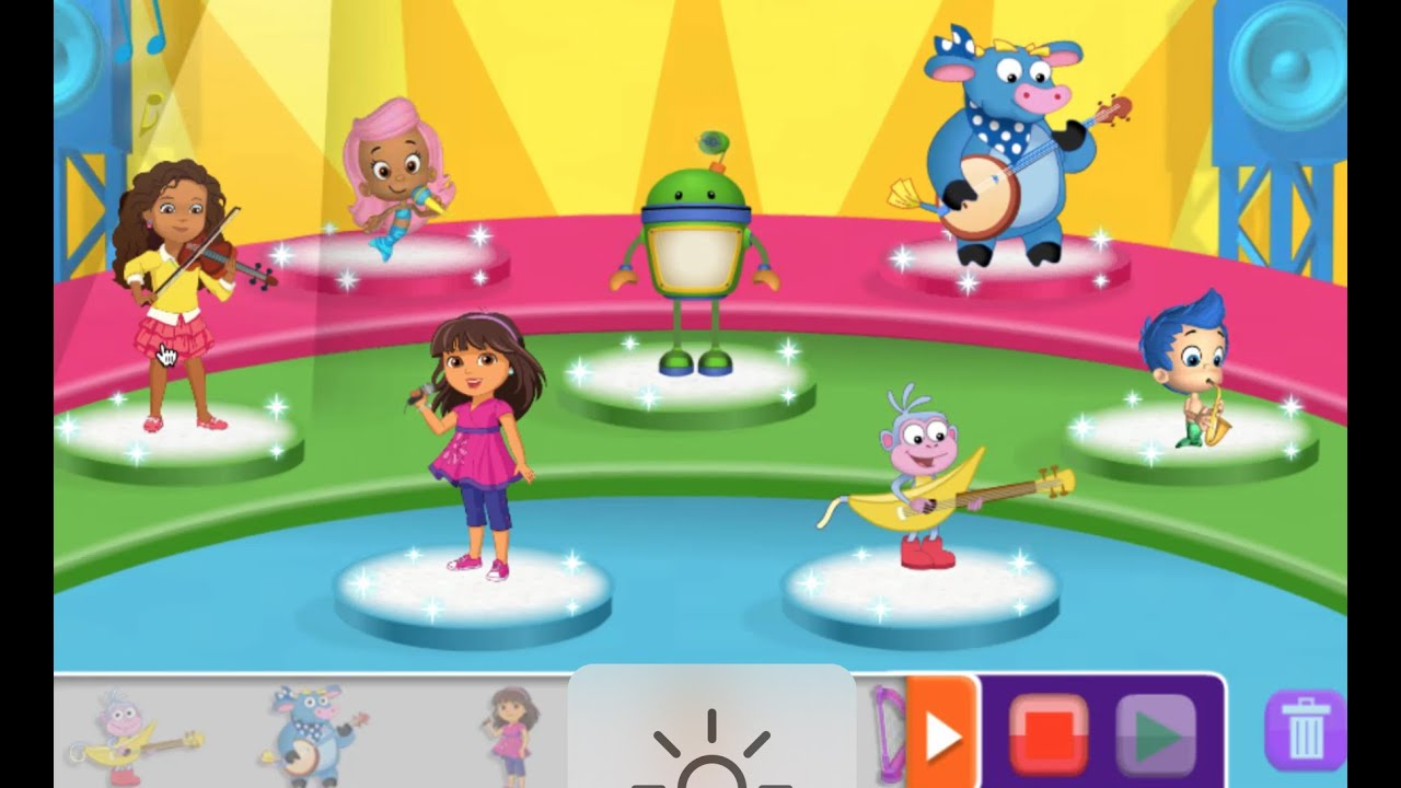 Nick Jr Music Maker | Nick Jr Games To Play | yourchannelkids - YouTube