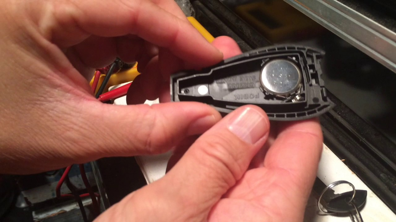 Key Fob Battery Change Jeep Grand Cherokee Youtube