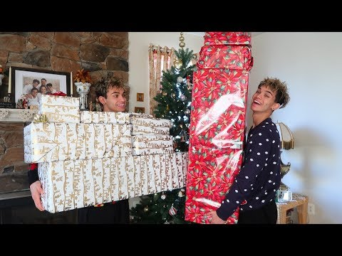 Twins surprise each other with the best Christmas gifts ever!