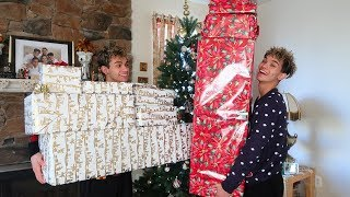 Twins surprise each other with the best Christmas gifts ever! thumbnail
