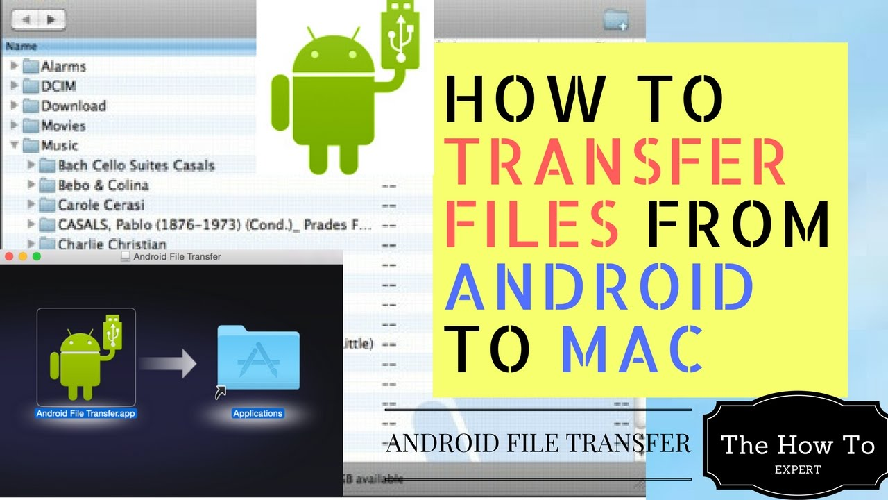 Phone Transfer Files To Android Phone how to transfer files from android phone mac youtube mac