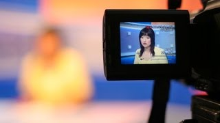 Where to Look during a TV Interview | Public Speaking