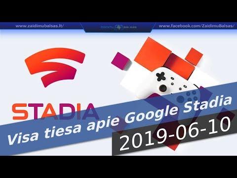 Visa tiesa apie Google STADIA - NAUJIENOS