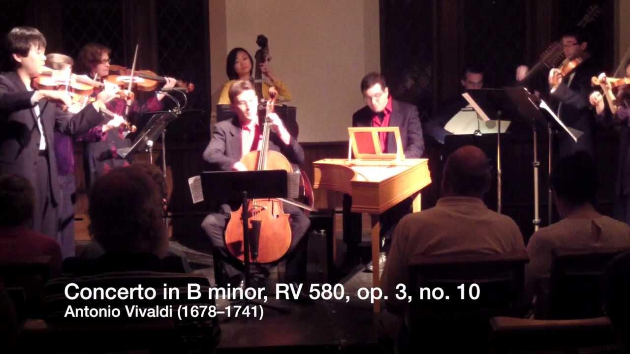 Vivaldi: Concerto in B minor, RV 580 - YouTube