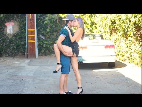 Kissing Prank - Australian Trick - PrankInvasion 2015 from YouTube · Duration:  4 minutes 47 seconds