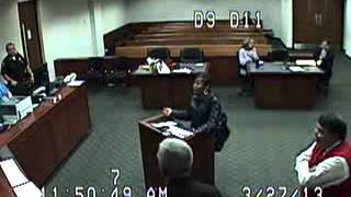Police Miss Court 7 Times - Connie Marshall - Part 4 of 21 - 3/27/2013 Cover-up - Case 12-F-007230