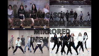 Iconic songs kpop random dance - mirrored [new \u0026 old] (Pt1)| NO COUNTDOWN