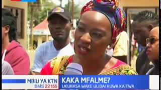 King Kaka ajiwasilisha katika makao ya DCI baada ya kutoa nyimbo ya Wajinga Nyinyi | MBIU YA KTN