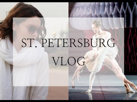 Follow me around St. Petersburg // Russia VLOG