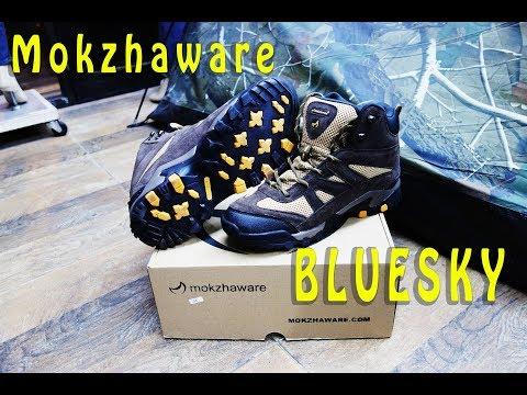 Hiking Boots Mokzhaware Bluesky Sepatu Gunung