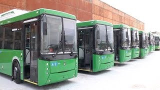 Премьерный показ: журналисты увидели новые городские автобусы