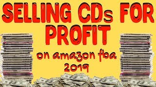 Book Sourcing Is Dead To Me! Selling CDs On Amazon FBA In 2019!