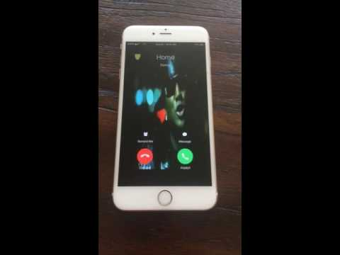 Video ringtone for iPhone