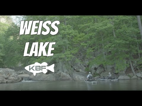 Weiss Lake VLOG | Kayak Bass Fishing | Alabama Mountain Lakes
