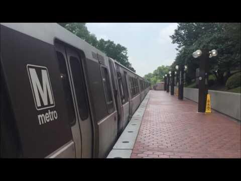 Metrorail Trains in Washington D.C.