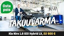 Käytetty: Kia Niro 1.6 GDI Hybrid - Takuuvarma