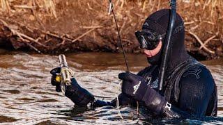 Мужское Хобби Ищем Сомовьи Шапки Башкиры в Татарстане Подводная Охота на Камском Водохранилище