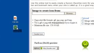 How to Create and upload a Favicon.ico Mp3