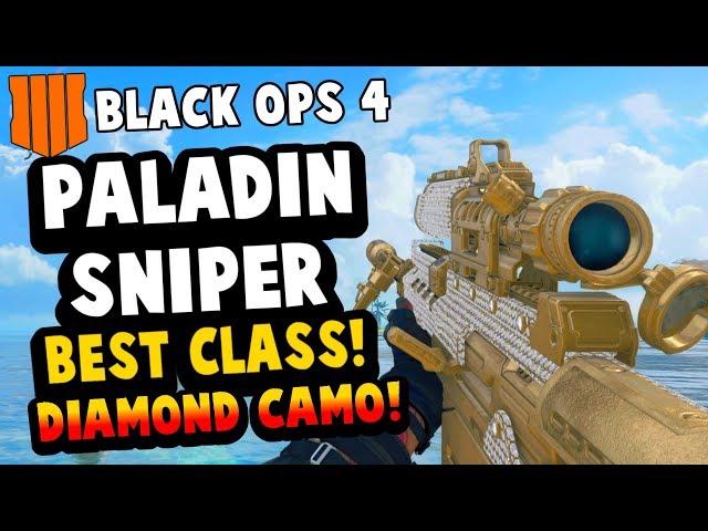 BLACK OPS 4 PALADIN SNIPER BEST CLASS SETUP (BO4) ICEBREAKER MAP BEST  SNIPING CLASS BO4