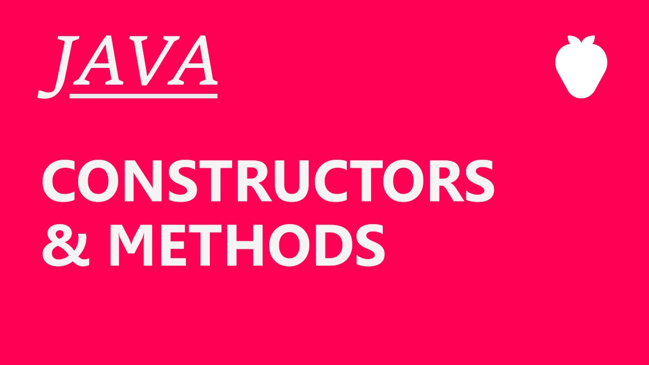 Java tutorial for beginners 2 constructors and methods youtube java tutorial for beginners 2 constructors and methods baditri Images