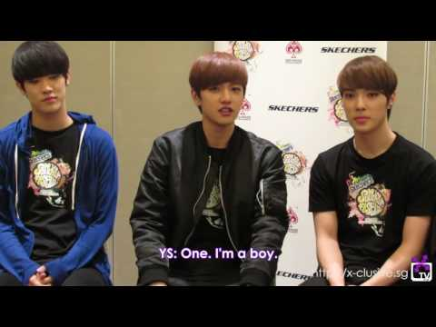 [CC] XTV  Group Interview with Cross Gene