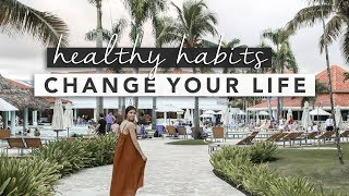 Hi guys! today we're going to be talking about some healthy habits that will change your life with 10 wellness tips! new year's is creeping up really fast an...