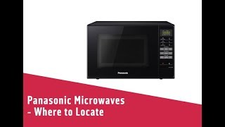 Panasonic Microwaves Where to Locate