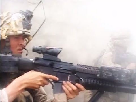 marines-taking-fallujah-with-force-from-enemy-|-marines-in-combat-firefight