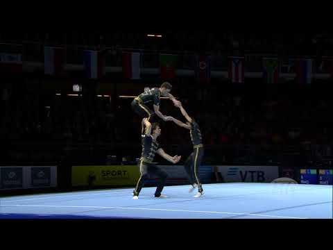 2018 Acrobatic Worlds – Belgium, Men's Group Qualifications