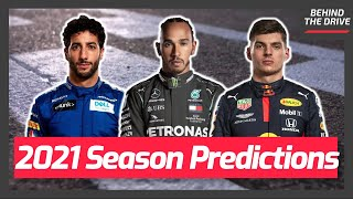My 2021 Formula 1 Predictions