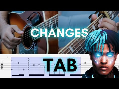 How to Play Changes - XXX | Fingerstyle Guitar Lesson (Tutorial)