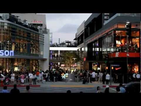 Grand Opening of Santa Monica Place