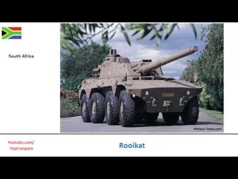 Mowag Piranha Vs Rooikat, Infantry Carrier Vehicle full specs