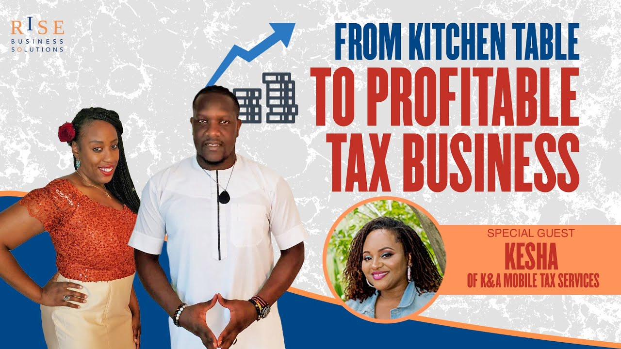 how to start a tax business from home