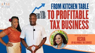 How to Start a Tax Preparation Business from home. Tax Training.