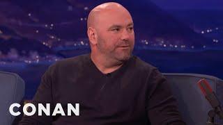 Dana White Thinks The Mayweather/McGregor Fight Will Happen  - CONAN on TBS
