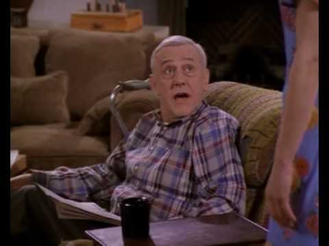 Martin Crane impersonating Daphne Moon  Frasier