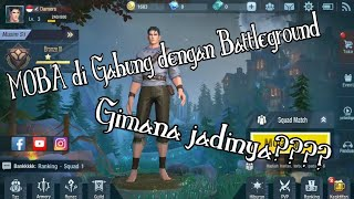 Game genre MOBA Battle Ground gimana rasanya || Survival Heroes || Damers••• INDO