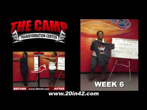 Arlington TX Weight Loss Fitness 6 Week Challenge Results - Brenda Omigie