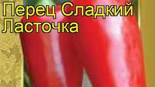 Перец сладкий Ласточка (Lastochka). Краткий обзор, описание характеристик, где купить семена