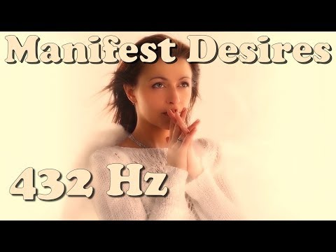 Angel Dreams - The Wishing Song (432 Hz) (daily Manifest Your Desires Meditation)