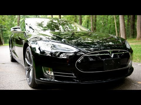 Tesla Model S P85 Test Drive - The Best Car Ever? - YouTube