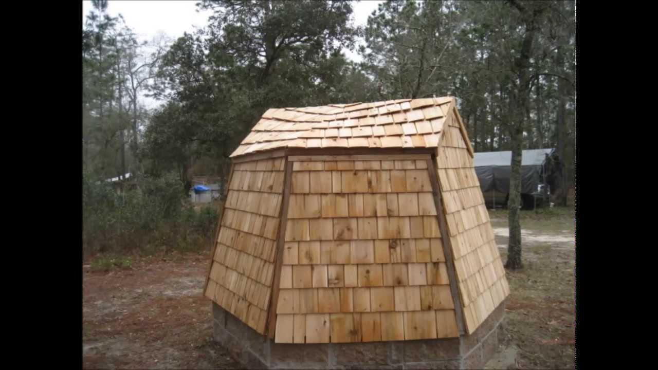 Pump House build - YouTube