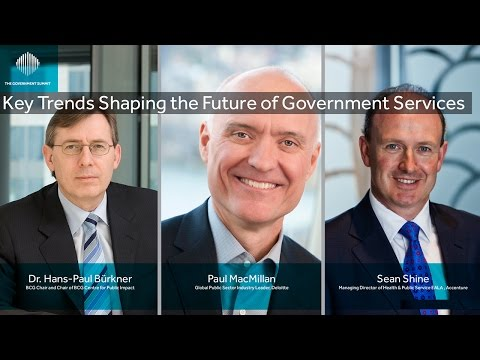 Key Trends Shaping the Future of Government Services