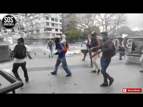 Situation in Venezuela protests and violence April 11, 2017